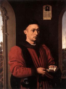 Petrus Christus : Portrait Of A Young Man